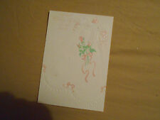 LOT OF 4 EMBOSSED DAYSPRING FOR BABY GIRL ON HER BAPTISM
