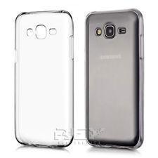 Funda silicona para Samsung Galaxy J5 (2015) transparente protector S208