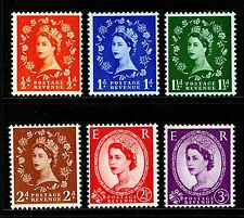 SG561-566, COMPLETE SET, NH MINT. Cat £12.