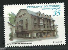 ANDORRA  Edifil # 278 ** MNH Set. Patrimonio Arquitectonico