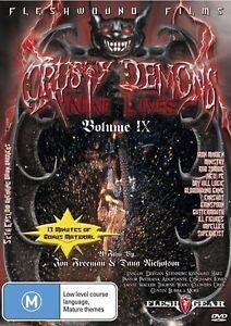 Crusty Demons Volume 9 - Nine Lives DVD BRAND NEW SEALED 🔥🔥