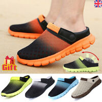 Summer Mens Womens Beach Sandals Slippers Clogs Mules Sports Shoes Flip Flop UK