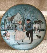 P BUCKLEY MOSS The Anniversary-Celebrations Anna Perenna Plate Amish FREE SHIP