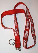 "KUMHO TIRES ""Race Proven Performance"" Auto Show SEMA Show Promo Red Lanyard"