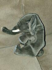 Thomas Boland Co Hansa Elephant Plush Hand Puppet Stuffed Animal