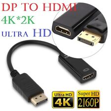 4K*2K DisplayPort Display Port DP To HDMI Cable Adapter Converter  for HDTV PC