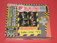 2018 JAPAN ROLLING STONES FROM THE VAULT NO SECURITY SHM CD 2 BONUS + BLU-RAY