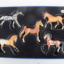 Breyer horse 2006 JAH Connoisseur Collection Special Edition Stablemates Set