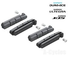 Shimano Brake Shoes Pads  R55C3, for Dura-Ace, Ultegra & 105, Twin Pack Set of 4