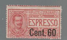 FRANCOBOLLI 1922 REGNO ESPRESSI C. 60 SU 50 A/5388