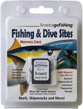 Broward County Fishing & Dive Sites Memory Card