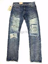 Denim Supply Ralph Lauren Men 32*34 Bedford Straight Distress Repair Ghost Jeans