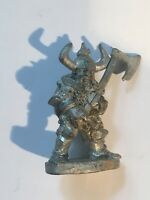 Dwarf With Large Axe Warhammer Fantasy Armies 28mm Unpainted Wargames