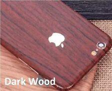 Wood Effect For Apple iPhone Case Cover Sticker Vinyl Wrap Decal iPhone Skin