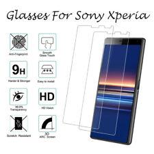 For Sony Xperia 1 5 L2 L3 XA1 XA2 XZ1 XZ2 XZ3 Tempered Glasses Screen Protector