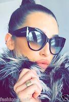 Anoushka Cat Eye oversized XXL Thick Frames SEXY GIRL Women Sunglasses Lady