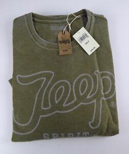 Lucky Brand Crewneck Vintage Fleece Crewneck Jeep Spirit 1941 Sweatshirt NWT $79
