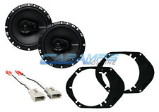 ROCKFORD FOSGATE FORD F-150 250 350 TRUCK FRONT OR REAR SPEAKERS W INSTALL KIT