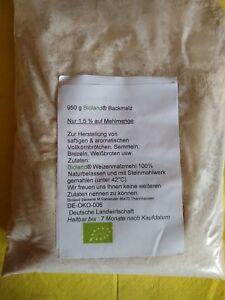 Brötchenbackmittel  Bioland  Backmalz Enzym aktiv  + Rezept 200g