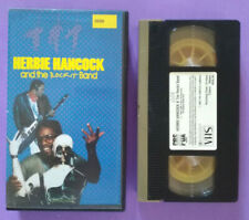 VHS Eng Film Musicale HERBIE HANCOCK And The Rockit Band ex nolo no dvd lp(V163)