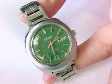 1970' Jules Racine GALLET Auto 17 J Day/Date Wrist Watch. PARTS/RESTORATION.