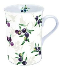 Ambiente Home Mug Tee/ Kaffee Olives All Over ca. 0.25L Ideal Als Geschenk