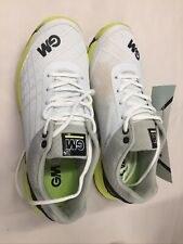 Gunn & Moore 2019 All Rounder Mens Cricket Shoe White/Lime Size 9 Us Preowned