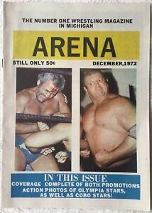 ARENA Magazine - Dec. 1972 - SHEIK, DICK THE BRUISER - 16 Pages - RARE!!!