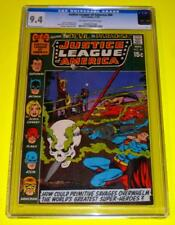 1970 JUSTICE LEAGUE OF AMERICA #84 CGC 9.4 OW-W NM Anderson skull cover voodoo