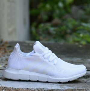 New Adidas Originals Swift Run Cloud White Running B37725 Mens Sizes RESTOCK