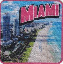 MIAMI Iron On Printed Patch Florida South