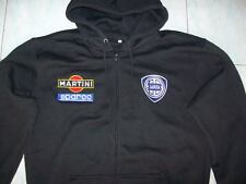 NEU LANCIA MARTINI RACING fan Kapuzenpulli hoodie schwarz vest gilet