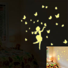Glow Night Dance Girl Home Room Decor Removable Wall Sticker Decal Decorations