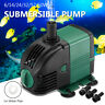 2800L/H Submersible Aquarium Fish Tank Water Pump Fountain Filter Marine Silent