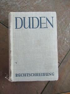 Duden Rechtschreibung,Buch von 1953