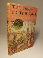 1949 THE DOOR IN THE WALL by DE ANGELI NEWBERY MEDAL 1ST ED DJ MEDIEVAL ENGLAND