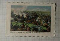 Battle Waterloo 1913 Liberation War Painting WW Political & Patriotic Poster