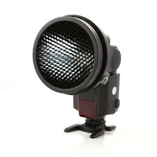 K-9 Universal Flash Mount Adapter + Honeycomb Grid for Yongnuo Canon Speedlight