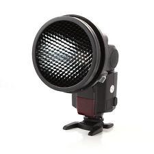 K-9 Universal Flash Mount Adapter + Honeycomb Grid for Yongnuo Canon Speedlight
