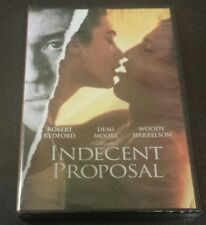Indecent Proposal (DVD. Widescreen) Robert Redford 1993 film Demi Moore NEW