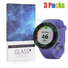 For Garmin Forerunner 45S (39mm Ver.) Tempered Glass Screen Protector (3 Packs)