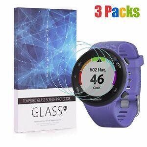 For Garmin Forerunner 45S (39mm Ver.) Tempered Glass Screen Protector (3 Packs)