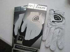 2 NEW CALLAWAY RIGHT TOUR AUTHENTIC GOLF GLOVES SIZE MEDIUM LARGE MENS