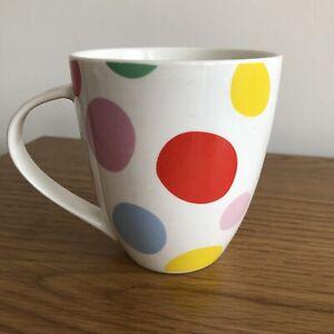 Original Cath Kidston Design Polka Dot Spotted Large Crush Queens Mug