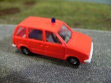 1/87 Rietze NISSAN PRAIRIE pompiers tagesleuchtrot 50061