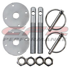 Aluminum Hood Pin Kit Flip-Over Style for all Dodge Cars and Trucks Ships Free!