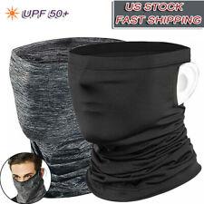 Neck Gaiter Ice Silk Cooling Face Mask  Balaclava Bandana Scarf Headwear Sports
