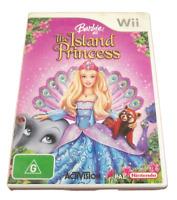Barbie as The Island Princess Nintendo Wii PAL *Complete*