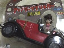 Lupin the Third 3rd Idling Tin Plate Car Banpresto / Free Shipping