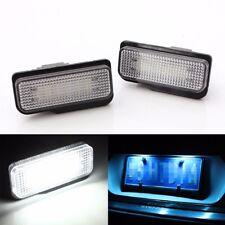 2x No Error License Plate LED Light For Mercedes Benz W203 W211 W219 SLK CLS C21